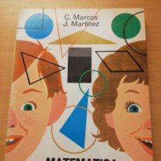 Libros de segunda mano de Ciencias: MATEMÁTICA MODERNA 2º (C. MARCOS / J. MARTÍNEZ). Lote 175357464