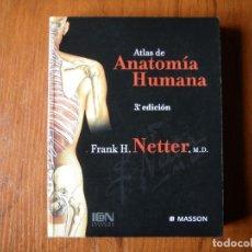 Libros de segunda mano: ATLAS ANATOMÍA HUMANA MASSON FRANK H NETTER. Lote 175706418