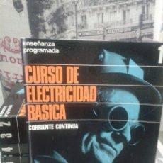 Libros de segunda mano de Ciencias: CURSO DE ELECTRICIDAD BÁSICA. 6 TOMOS. 1972.. Lote 175790425