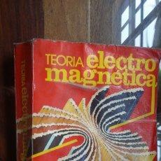 Libros de segunda mano de Ciencias: TEORIA ELECTROMAGNÈTICA M. ZAHN, INTERAMERICANA. Lote 175913249