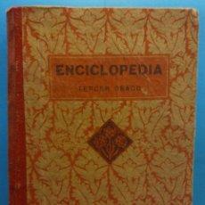 Libros de segunda mano de Ciencias: ENCICLOPEDIA TERCER GRADO. EDELVIVES. EDITORIAL LUIS VIVES. 1938. Lote 175962079