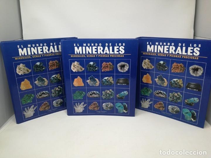 EL MUNDO DE LOS MINERALES. TRES TOMOS. ORBIS (Libros de Segunda Mano - Ciencias, Manuales y Oficios - Paleontología y Geología)