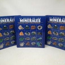 Libros de segunda mano: EL MUNDO DE LOS MINERALES. TRES TOMOS. ORBIS . Lote 176022558
