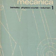 Libros de segunda mano de Ciencias: 0031521 MECÁNICA BERKELEY PHYSICS COURSE.- VOLUMEN 1. Lote 176298915