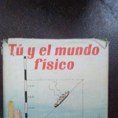Libros de segunda mano de Ciencias: P. KARLSON: TÚ Y EL MUNDO FÍSICO. Lote 176350120