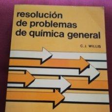 Libros de segunda mano de Ciencias: RESOLUCIÓN DE PROBLEMAS DE QUÍMICA GENERAL (WILLIS) REVERTÉ. Lote 176434913