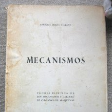 Livros em segunda mão: MECANISMOS. TEORÍA CINÉTICA Y CÁLCULO DE ÓRGANOS DE MÁQUINAS, DE ENRIQUE BELDA VILLENA. Lote 232090630