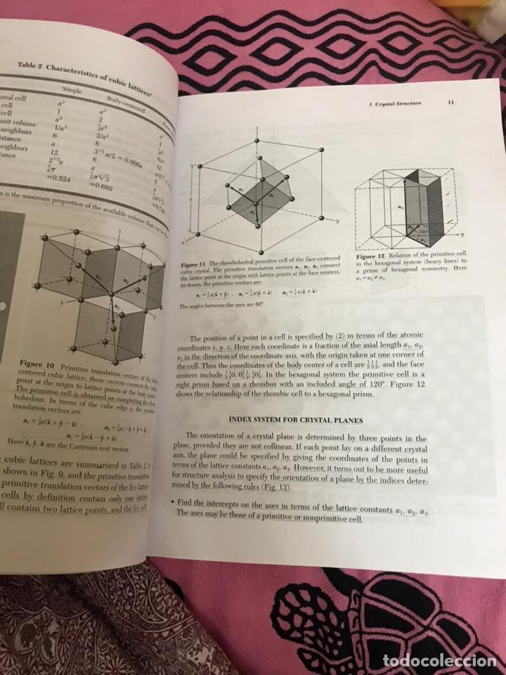Libros de segunda mano de Ciencias: SOLID STATE PHYSICS Charles Kittel - Foto 4 - 176490154