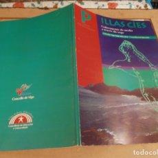 Libros de segunda mano: LIBRO ILLAS CIES - COÑECEMENTO DO MEDIO A TRAVES DO XOGO 1995 - GUIA DO PROFESORADO. Lote 176519532