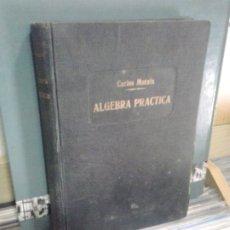Libros de segunda mano de Ciencias: LMV - ALGEBRA PRÁCTICA. CARLOS MATAIX. Lote 176551015