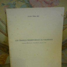 Libros de segunda mano: LOS CRÁNEOS PREHISTÓRICOS DE VALDEDIÓS, DE JUAN URÍA RÍU. OVIEDO 1.958. ILUSTRADO.. Lote 176669922