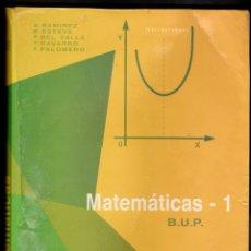 Libros de segunda mano de Ciencias: MATEMÁTICAS - 1-BUP-VV AA- ECIR-PLAN 1975.- AÑO 1992-. Lote 176755237