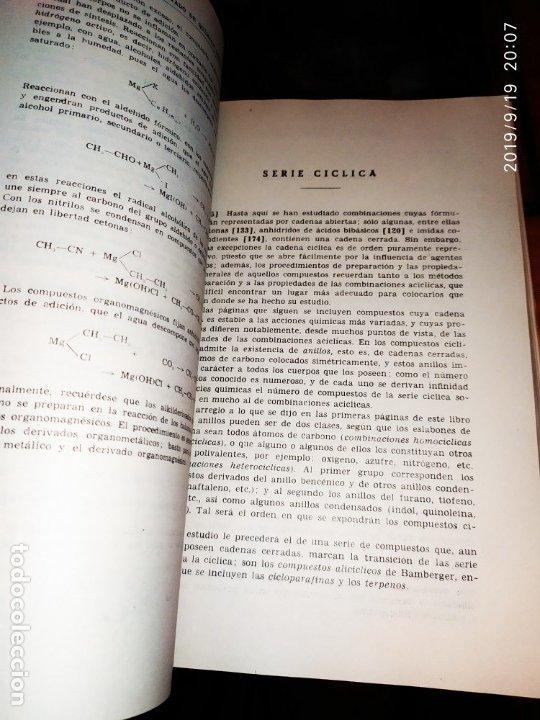 Libros de segunda mano de Ciencias: TOMO I TOMO II TRATADO DE QUÍMICA GENERAL ANTONIO IPIENS LACASA NOVENA FIRMADO AUTOR 1959 DEDICADO - Foto 8 - 176858293