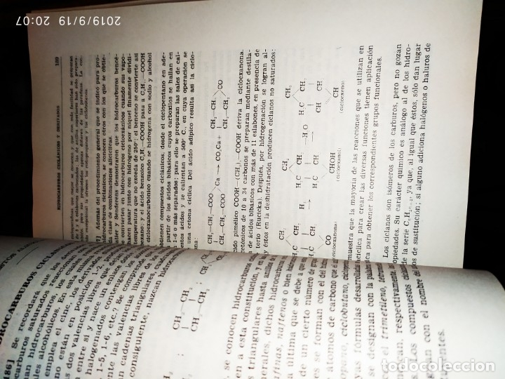 Libros de segunda mano de Ciencias: TOMO I TOMO II TRATADO DE QUÍMICA GENERAL ANTONIO IPIENS LACASA NOVENA FIRMADO AUTOR 1959 DEDICADO - Foto 9 - 176858293