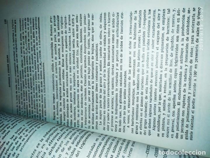 Libros de segunda mano de Ciencias: TOMO I TOMO II TRATADO DE QUÍMICA GENERAL ANTONIO IPIENS LACASA NOVENA FIRMADO AUTOR 1959 DEDICADO - Foto 13 - 176858293
