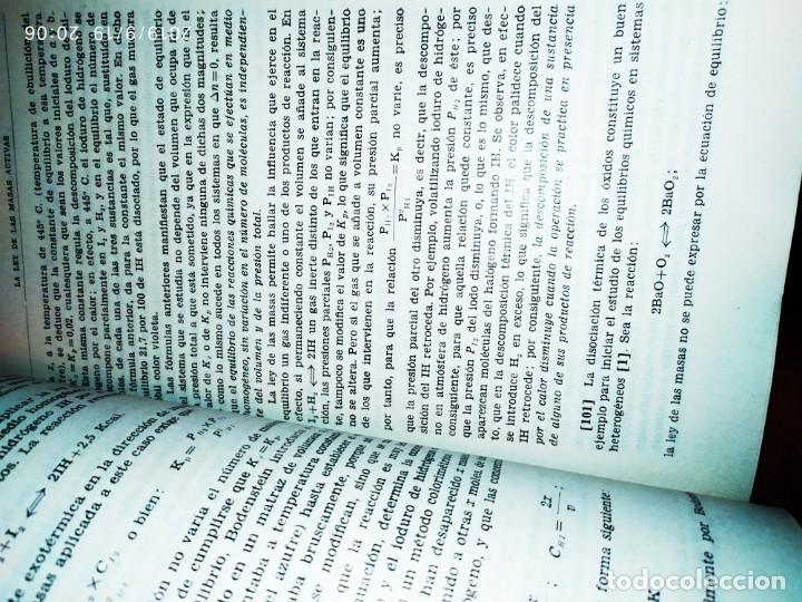 Libros de segunda mano de Ciencias: TOMO I TOMO II TRATADO DE QUÍMICA GENERAL ANTONIO IPIENS LACASA NOVENA FIRMADO AUTOR 1959 DEDICADO - Foto 16 - 176858293
