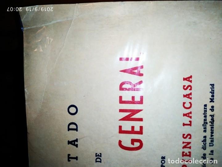 Libros de segunda mano de Ciencias: TOMO I TOMO II TRATADO DE QUÍMICA GENERAL ANTONIO IPIENS LACASA NOVENA FIRMADO AUTOR 1959 DEDICADO - Foto 38 - 176858293