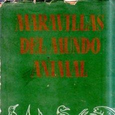 Libros de segunda mano: MARAVILLAS DEL MUNDO ANIMAL. SELECCIONES READER´S DIGEST. 1965.. Lote 176883308