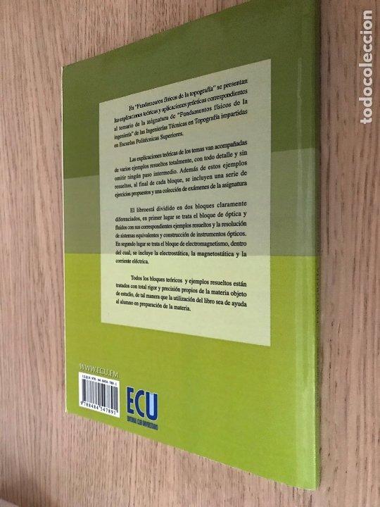 Libros de segunda mano de Ciencias: Fundamentos físicos de la topografía - Muñoz Mato, Luis Alberto - Foto 4 - 176895809