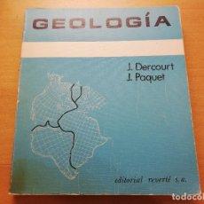 Livros em segunda mão: GEOLOGÍA (J. DERCOURT / J. PAQUET) EDITORIAL REVERTÉ. Lote 176913343