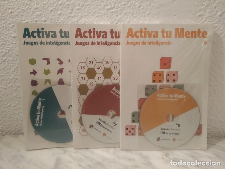 LOTE ACTIVA TU MENTE (Libros de Segunda Mano - Ciencias, Manuales y Oficios - Física, Química y Matemáticas)