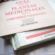 Libros de segunda mano: GUÍA DE LAS PLANTAS MEDICINALES DE LA COMUNIDAD VALENCIANA-LAS PROVINCIAS -COMPLETO A ENCUADERNAR. Lote 177270684