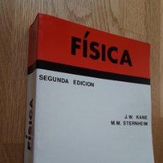 Libros de segunda mano de Ciencias: FÍSICA / JOSEPH W. KANE - MORTON M. STERNHEIM / EDITORIAL REVERTE, 1998 ( SEGUNDA EDICIÓN). Lote 177414405