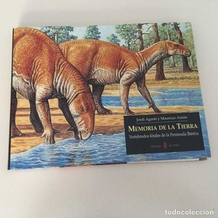 MEMORIA DE LA TIERRA. VERTEBRADOS FÓSILES DE LA PENÍNSULA IBÉRICA. (Libros de Segunda Mano - Ciencias, Manuales y Oficios - Paleontología y Geología)