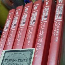 Libros de segunda mano de Ciencias: MATEMATICAS PROGRESIVAS DIDACTICO PEDAGOGICAS. 6 VOL. NUEVO. Lote 177612887