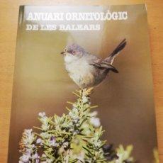 Libros de segunda mano: ANUARI ORNITOLÒGIC DE LES BALEARS 2016 (VOLUM 31). Lote 177835187