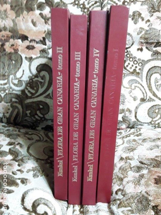 Libros de segunda mano: Flora de Gran Canaria (4 vol., completa). Kunkel. Años 70. Con láminas. Canarias. - Foto 6 - 138960770