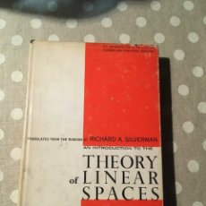 Libros de segunda mano de Ciencias: AN INTRODUCTION TO THE THEORY OF LINEAR SPACES SHILOV, GEORGIE E.. Lote 195273355