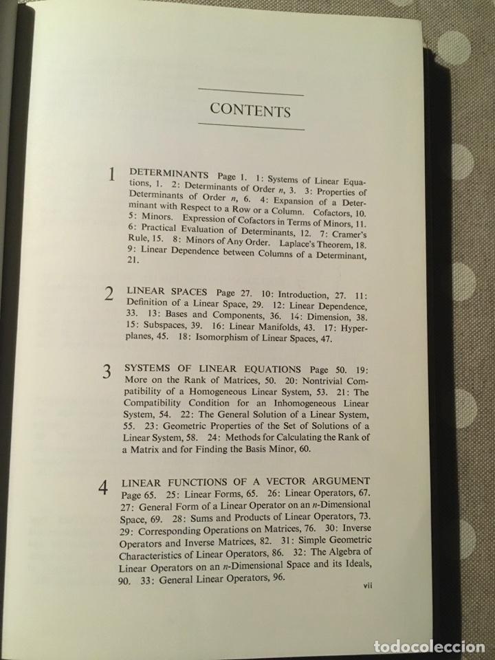 Libros de segunda mano de Ciencias: An Introduction to the Theory of Linear Spaces Shilov, Georgie E. - Foto 3 - 195273355