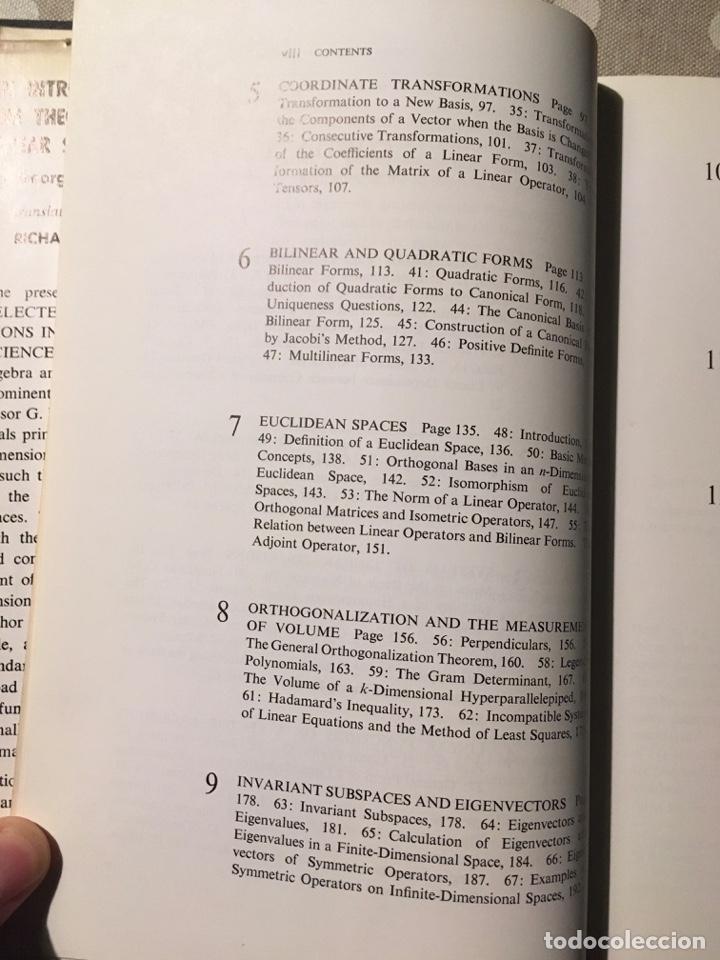 Libros de segunda mano de Ciencias: An Introduction to the Theory of Linear Spaces Shilov, Georgie E. - Foto 4 - 195273355
