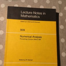 Libros de segunda mano de Ciencias: NUMERICAL ANALYSIS. (INGLÉS)EDITOR: BERLIN: SPRINGER 1981. (LECTURE NOTES IN MATHEMATICS) (1981). Lote 178620251