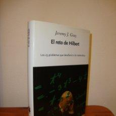Libros de segunda mano de Ciencias: EL RETO DE HILBERT - JEREMY J. GRAY - CRÍTICA, MUY BUEN ESTADO. Lote 178623750