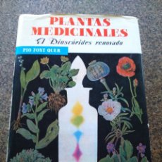 Libros de segunda mano: PLANTAS MEDICINALES. EL DIOSCORIDES RENOVADO -- PIO FONT QUER -- EDITORIAL LABOR 1990 --. Lote 178728286
