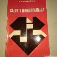Libros de segunda mano de Ciencias: CALOR Y TERMODINÁMICA. ZEMANSKY. AGUILAR. AÑO 1973. RÚSTICA. PÁGINAS 950 GR.. Lote 178799421