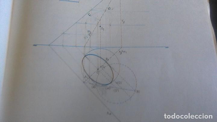 Libros de segunda mano de Ciencias: 3LIBROS GEOMETRIA DESCRIPTIVA PROBLEMAS GRAFICOS GEOMETRIA APUNTES GEOMETRIA DESCRIPTIVA - Foto 9 - 178976336