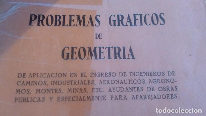 Libros de segunda mano de Ciencias: 3LIBROS GEOMETRIA DESCRIPTIVA PROBLEMAS GRAFICOS GEOMETRIA APUNTES GEOMETRIA DESCRIPTIVA - Foto 15 - 178976336