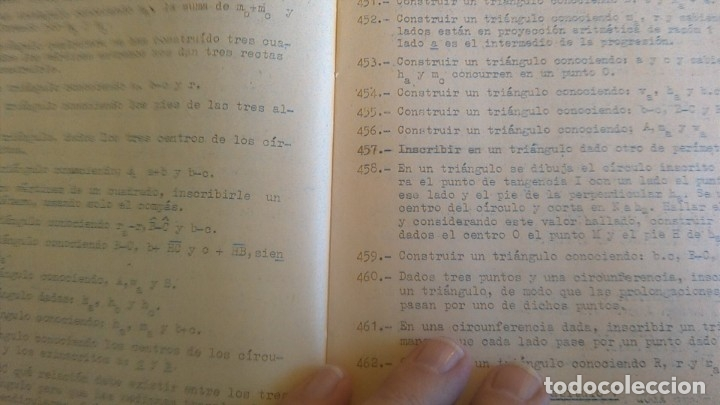 Libros de segunda mano de Ciencias: 3LIBROS GEOMETRIA DESCRIPTIVA PROBLEMAS GRAFICOS GEOMETRIA APUNTES GEOMETRIA DESCRIPTIVA - Foto 20 - 178976336