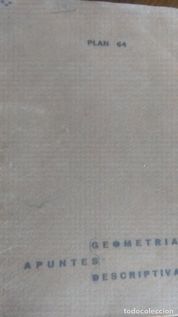 Libros de segunda mano de Ciencias: 3LIBROS GEOMETRIA DESCRIPTIVA PROBLEMAS GRAFICOS GEOMETRIA APUNTES GEOMETRIA DESCRIPTIVA - Foto 25 - 178976336