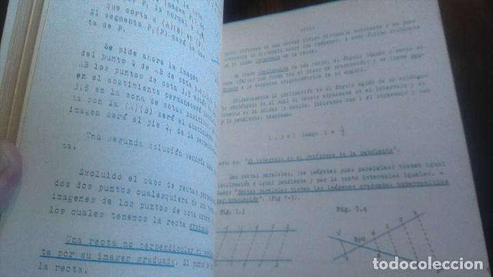 Libros de segunda mano de Ciencias: 3LIBROS GEOMETRIA DESCRIPTIVA PROBLEMAS GRAFICOS GEOMETRIA APUNTES GEOMETRIA DESCRIPTIVA - Foto 28 - 178976336