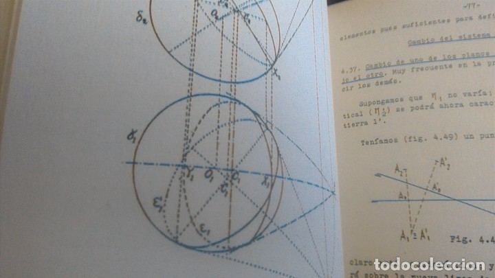 Libros de segunda mano de Ciencias: 3LIBROS GEOMETRIA DESCRIPTIVA PROBLEMAS GRAFICOS GEOMETRIA APUNTES GEOMETRIA DESCRIPTIVA - Foto 30 - 178976336