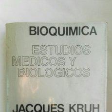 Libros de segunda mano de Ciencias: BIOQUÍMICA ESTUDIOS MÉDICOS Y BIOLÓGICOS. Lote 178989166