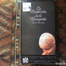 Libros de segunda mano de Ciencias: LA PROYECCIÓN DE LA PERCEPCIÓN . JOSÉ BELTRÁN. Lote 178992351
