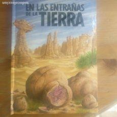 Libros de segunda mano: EN LAS ENTRAÑAS DE LA TIERRA. LIBRO POP UP FRANCOIS MICHEL Y PHILIPPE DAVAINE PUBLICADO POR ALTEA . Lote 179137635