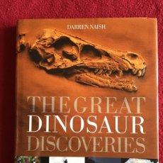 Libros de segunda mano: THE GREAT DINOSAUR DISCOVERIES. DARIÉN NAISH. LOS GRANDES DESCUBRIMIENTOS DE DINOSAURIOS. Lote 179143521