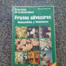 Libros de segunda mano: GRAN GUIA DE LA NATURALEZA -- FRUTOS SILVESTRES -- EVEREST --1988 --. Lote 179179526