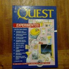 Libri di seconda mano: QUEST EXPERIMENTOS - EDICIONES RIALP 1992. Lote 179189531